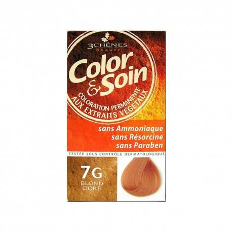 COLORATION BLOND DORE 7G 3