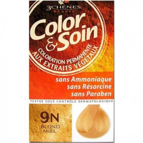 COLORATION BLOND MIEL 3