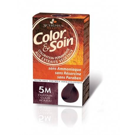 COLORATION CHATAIN CLAIR ACAJOU 5M 3