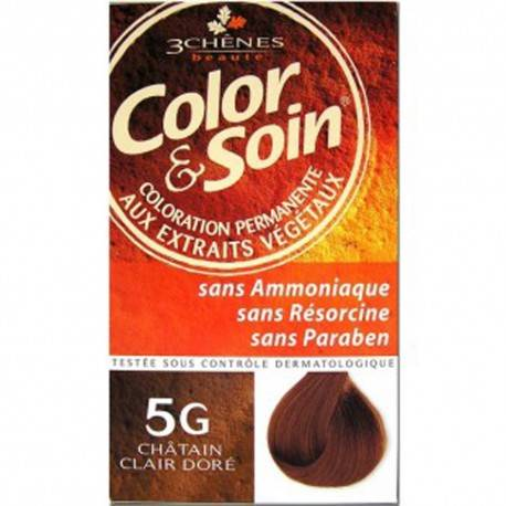 COLORATION CHATAIN CLAIR DORE 3