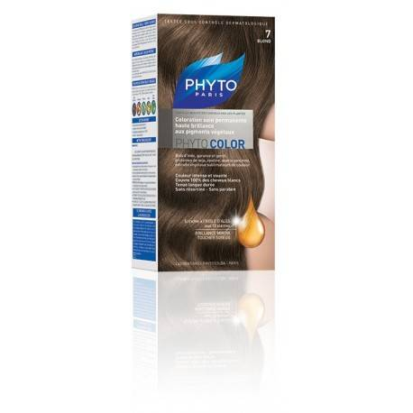 Coloration cheveux PhytoColor Blond 7 3
