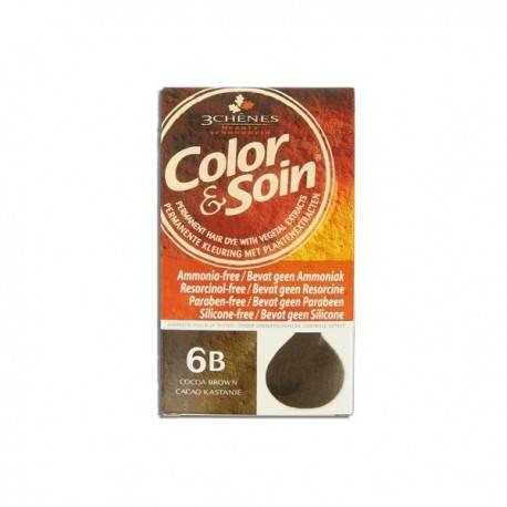 COLORATION MARRON CACAO 6B 3