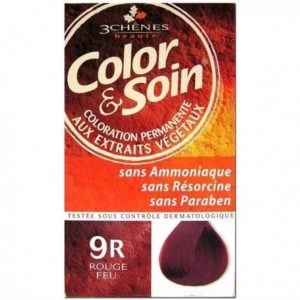 COLORATION ROUGE FEU 9R