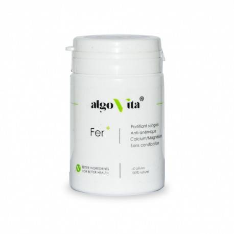 Complément alimentaire Fer+ gélules ALGOVITA 3