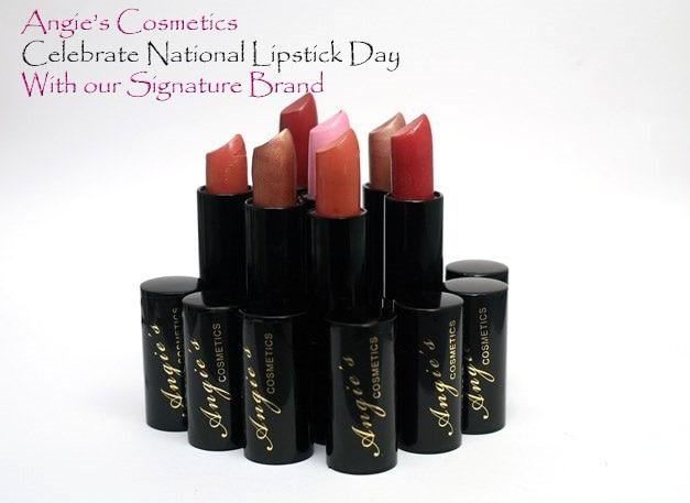 Célébrons la journée du rouge à lèvres!