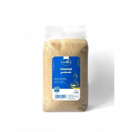 Couscous au blé intégral certifié BIO - NAPOLIS 3