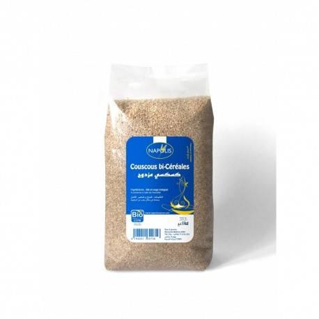 Couscous bi-céréales certifié BIO (1kg) - NAPOLIS 3
