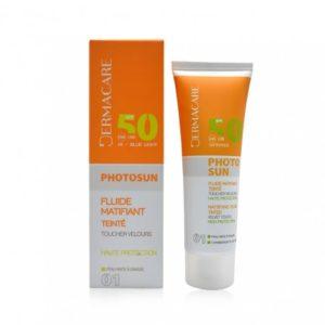 Dermacare ecran peau grasse 01 spf50+