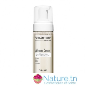 DERMACEUTIC ADVANCED CLEANSER MOUSSE NETTOYANTE DEMAQUILLANTE EXPERTE 150ML