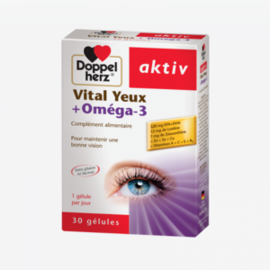Doppelherz ACTIV Vital Yeux+Oméga3 – 30 Comprimés