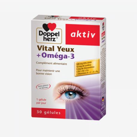 Doppelherz ACTIV Vital Yeux+Oméga3 - 30 Comprimés 3