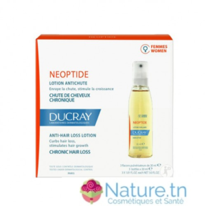 DUCRAY NEOPTIDE LOTION ANTICHUTE FEMMES 3 Flacons SPRAY 30ML