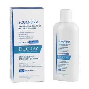 Ducray  squanorm shampoing pellicules grasses 200ml