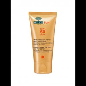 Ecran solaire Nuxe -crème fondante haute protection
