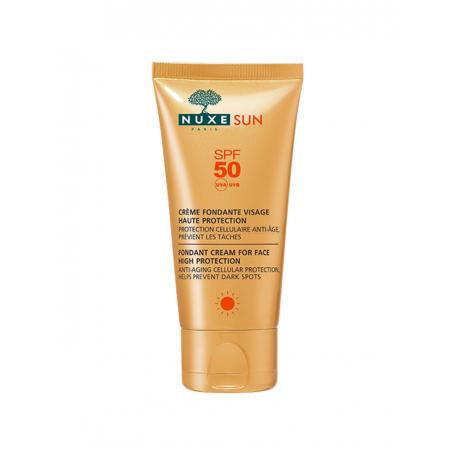 Ecran solaire Nuxe -crème fondante haute protection 3