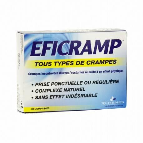 EFICRAMP PRÉVENTION ET ACTION CONTRE LES CRAMPES DE 3 CHÊNES 3