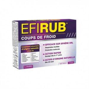 EFIRUB COUPS DE FROID, 16 SACHETS – 3C Pharma
