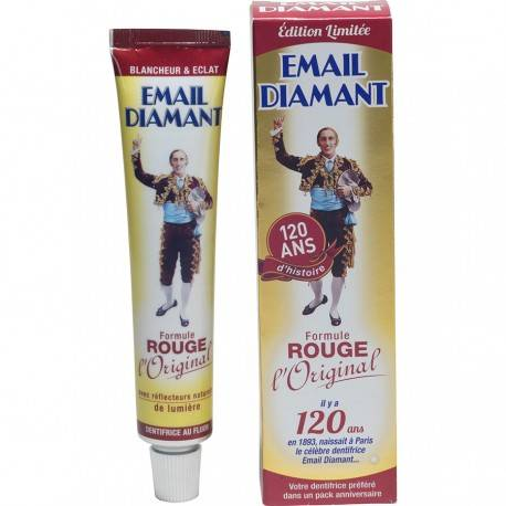 Dentifrice Email Diamant Formule Rouge, 50ml 3