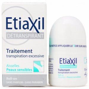 Etiaxil déodorant aisselles peaux sensibles