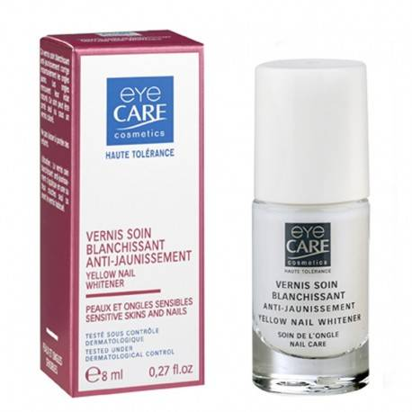 EYE CARE VERNIS SOIN BLANCHISSANT ANTI-JAUNISSEMENT 3