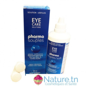 Eye Care Pharma souples Solution lentilles