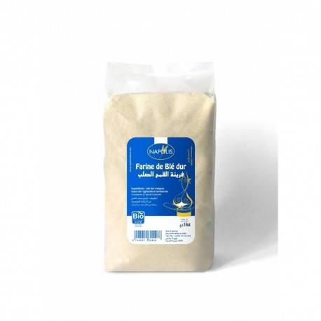Farine de blé dur certifiée BIO (1kg) - NAPOLIS 3