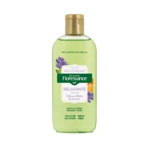Floressance huile de massage relaxante