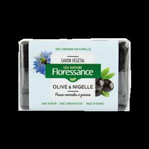 FLORESSANCE SAVON NOIR OLIVE & NIGELLE 200 g
