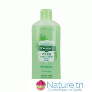 FLORESSANCE SHAMPOOING INFUSION ORTIE ROMARIN – PURIFIE 250ML