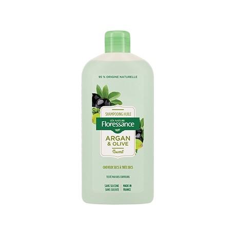 Floressance Shampoing Huile Argan & Olive 500ml 3