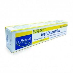 Gel dentifrice non moussant 70ml – LE NATUREL
