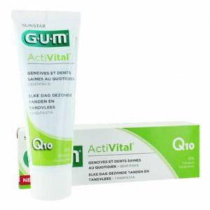 Gum activital  dentifrice Q10