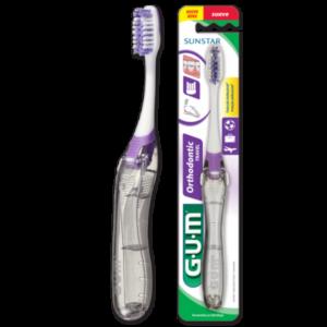 Gum brosse à dents orthodontique
