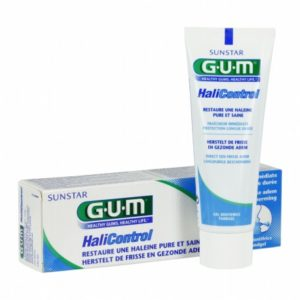 Gum dentifrice halicontrol
