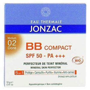JONZAC BB COMPACT PERFECTEUR DE TEINT MINERAL N°02 DORE