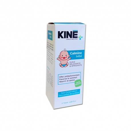 KINE+ HUILE RELAXANTE & APAISANTE CALMINE BEBE 50ml 3