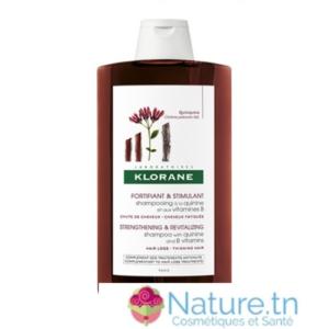 Klorane Shampooing Fortifiant à la Quinine et aux Vitamines B 400ML
