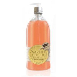 Les petits bains de provence savon liquide fleur d'oranger