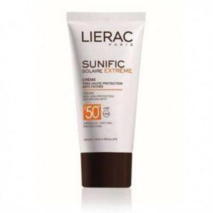 Lierac Sunific ecran 50+ visage et décolleté (50ml)