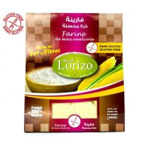 Lorizo farine de maïs améliorée