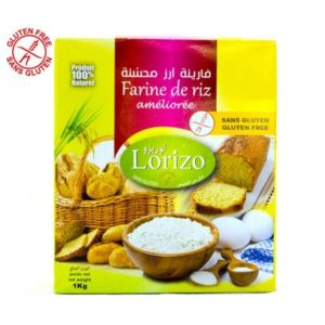 Lorizo Farine de riz améliorée