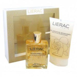 Lierac  coffret sensorielle eau de soin hydratante + gel douche