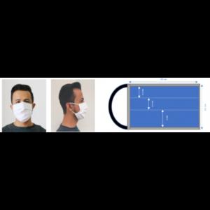 Masques Barrières Réutilisable et Lavable MS03