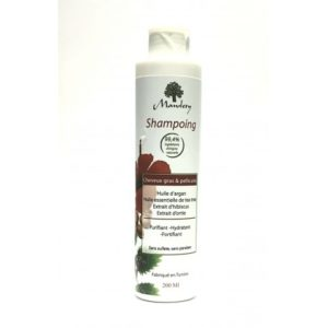 MAWLETY SHAMPOING CHEVEUX GRAS & PELLICULES SANS SULFATE
