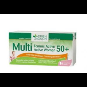 MULTI FEMME ACTIVE 50+ 30 COMPRIMES