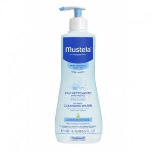 Mustela eau nettoyante sans rinçage