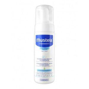 MUSTELA shampooing mousse nourissant 150ml
