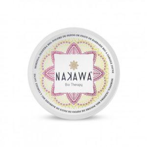 Nakawa masque argile jaune