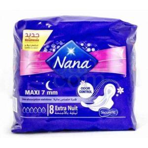 Nana maxi 7mm extra nuit 8