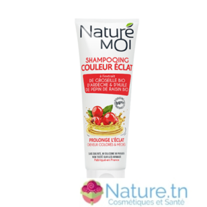 NATURE MOI SHAMPOOING COULEUR ÉCLAT – Cheveux colorés & méchés 250ML